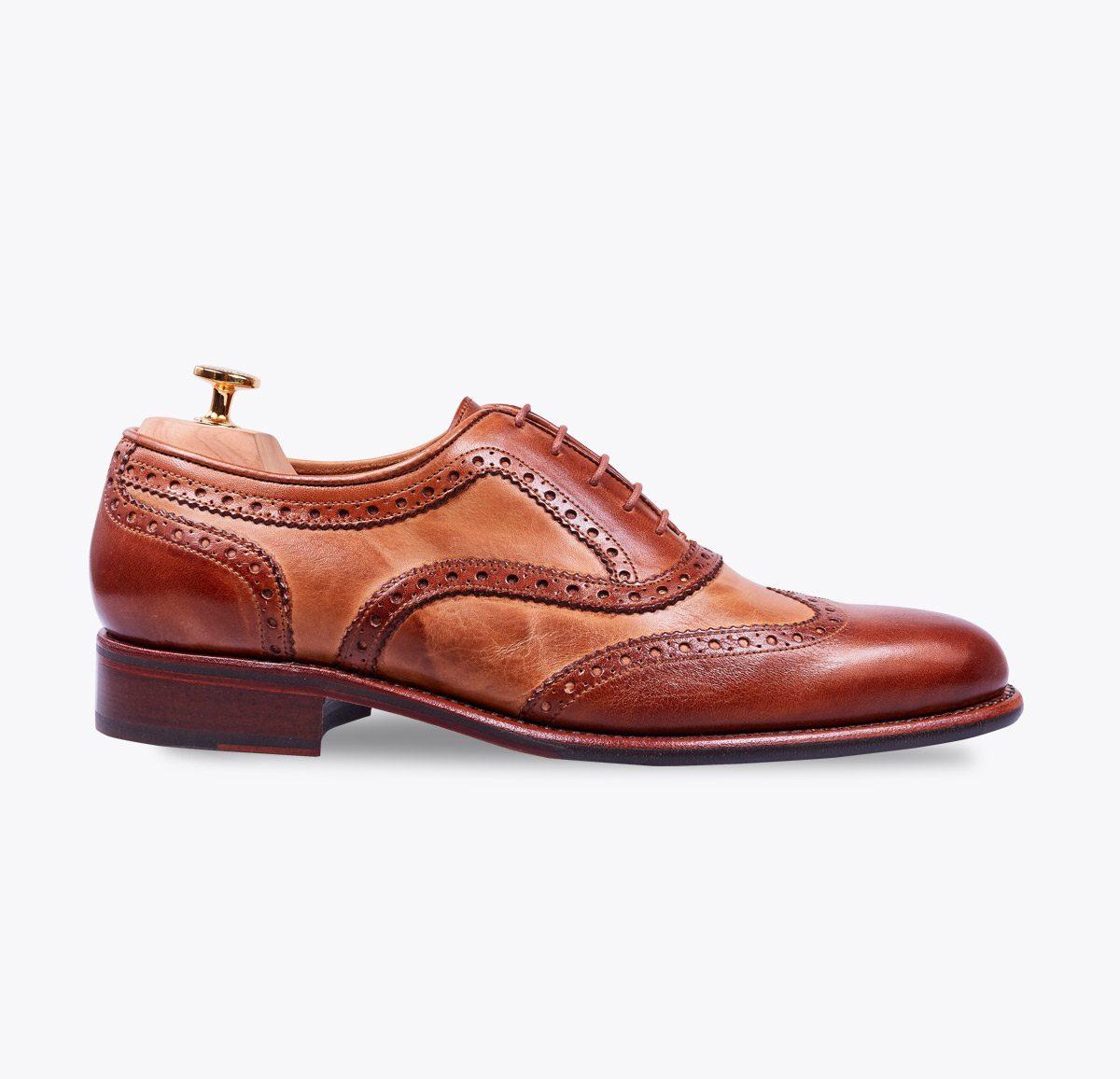 Zapato Director hecho a mano en mandalashoes, Santanyí Mallorca. Hand made shoes. Nach Mass Schuhe