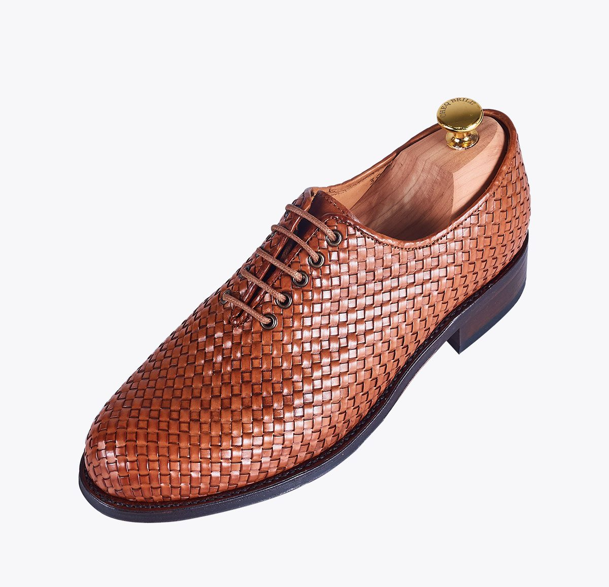 Zapato trenzado cuero mandalashoes Santanyí Mallorca