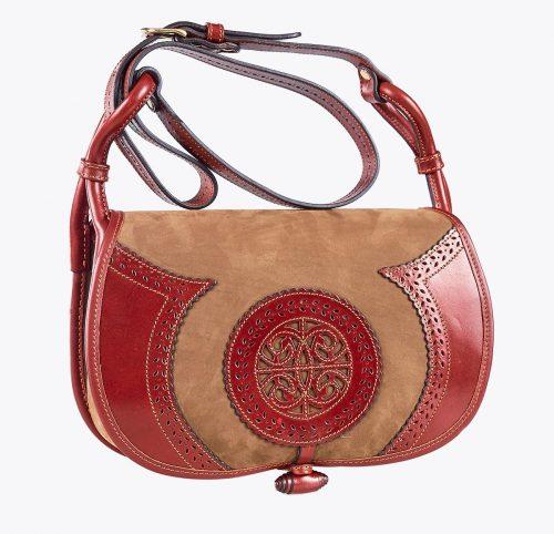 Bolso cartujano, accesorios y complementos en mandalashoes. handmade accessories. handgemachte Accessoires