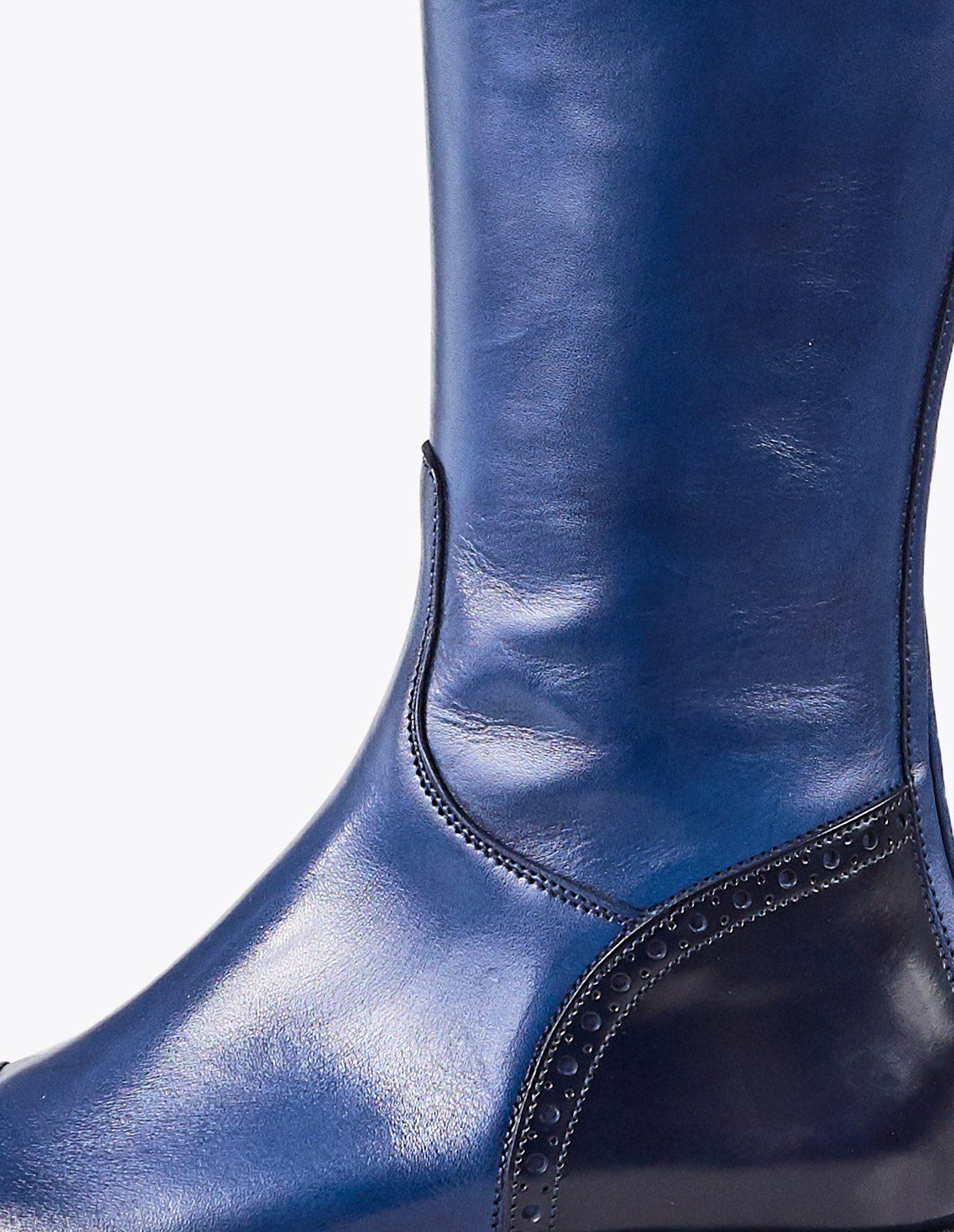 Bota budapest combi, tailor made shoes, schuhe nach mass en mandalashoes Santanyí Mallorca