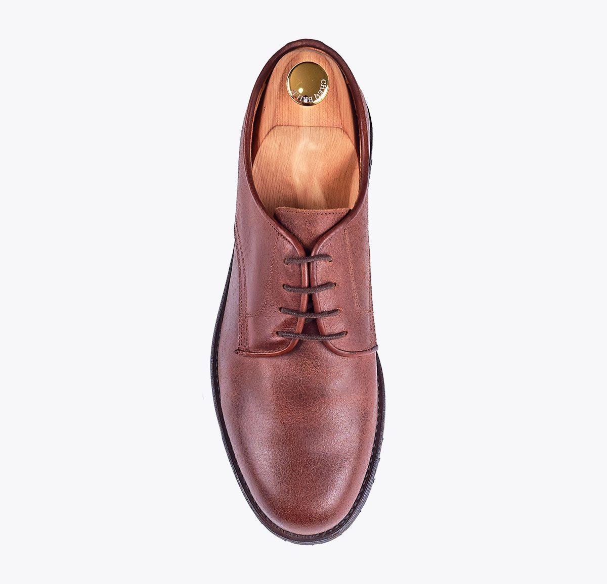 Zapato Campero hecho a mano en mandalashoes, Santanyí Mallorca. Hand made shoes. Nach Mass Schuhe