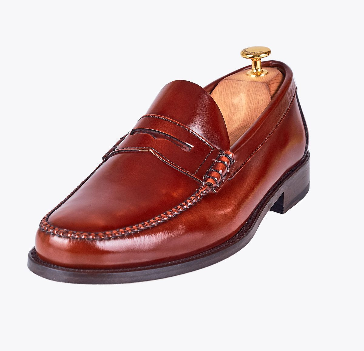 Castellano antifaz chesnut en mandalashoes