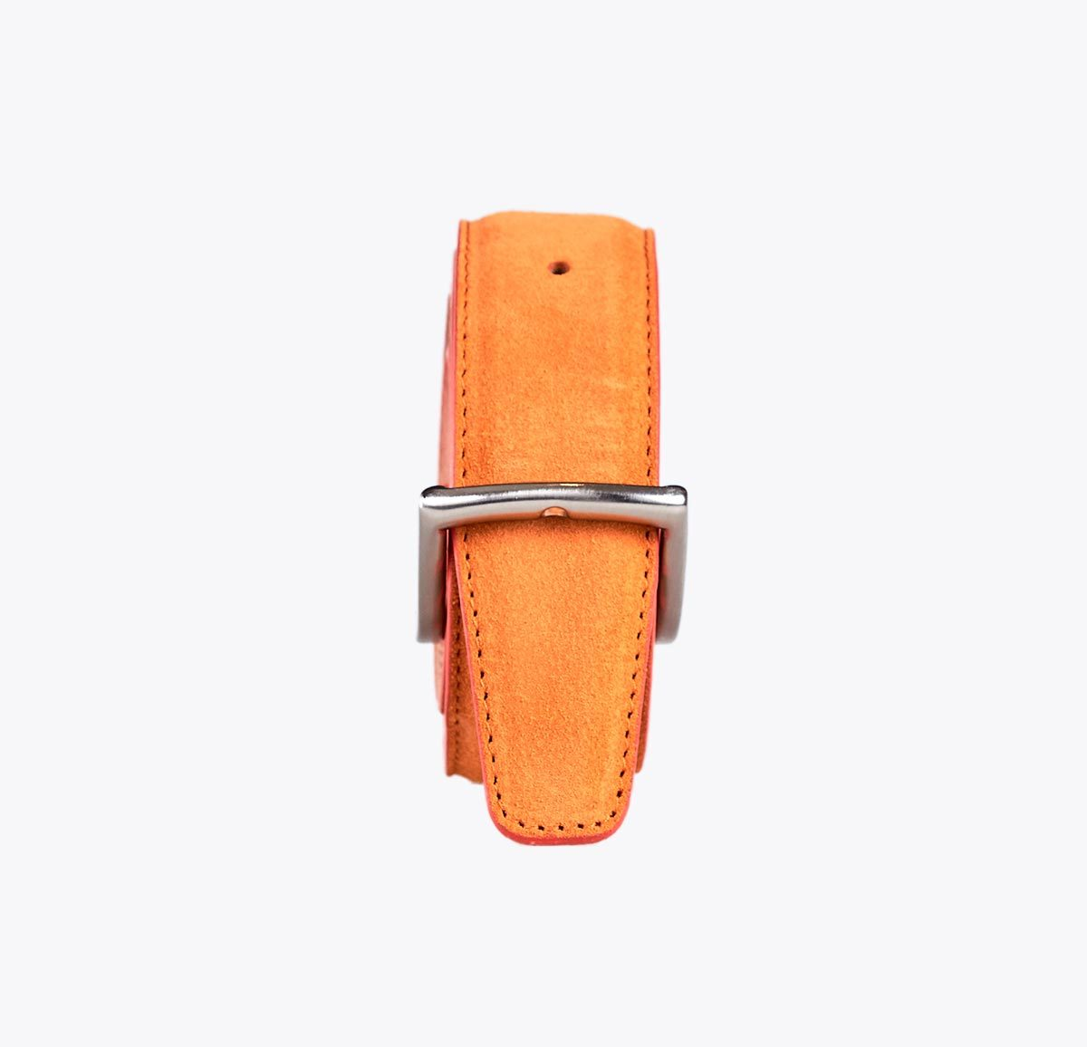 Cinturón ante mandarina Accesorios y complementos en mandalashoes. Accessories in mandalashoes. Zubehör in Mandalas.