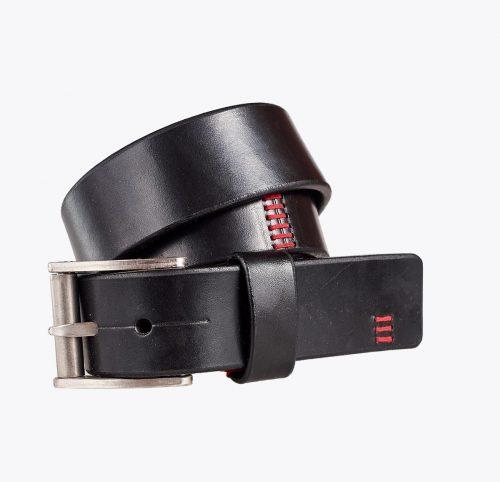 Cinturón búfalo negro Accesorios y complementos en mandalashoes. Accessories in mandalashoes. Zubehör in Mandalas.