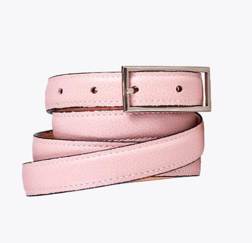 Cinturón grabado rosa Accesorios y complementos en mandalashoes. Accessories in mandalashoes. Zubehör in Mandalas.