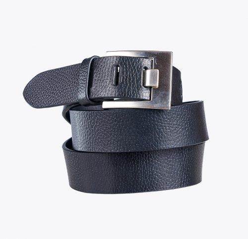 Cinturón grabado hebilla cuadrada negro Accesorios y complementos en mandalashoes. Accessories in mandalashoes. Zubehör in Mandalas.