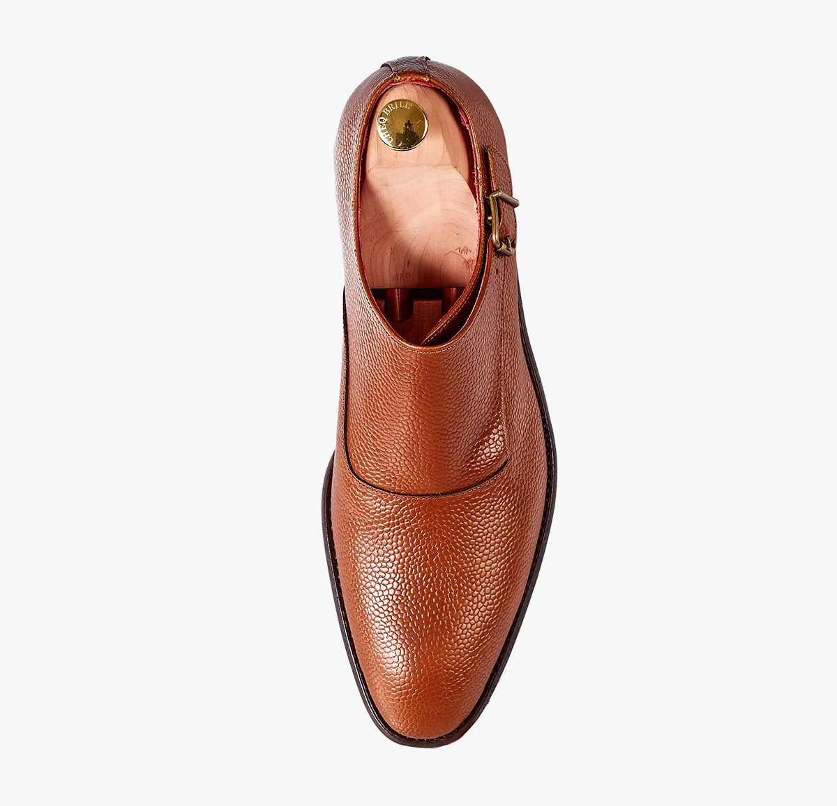 Zapato Clooney Sándalo hecho a mano en mandalashoes, Santanyí Mallorca. Hand made shoes. Nach Mass Schuhe