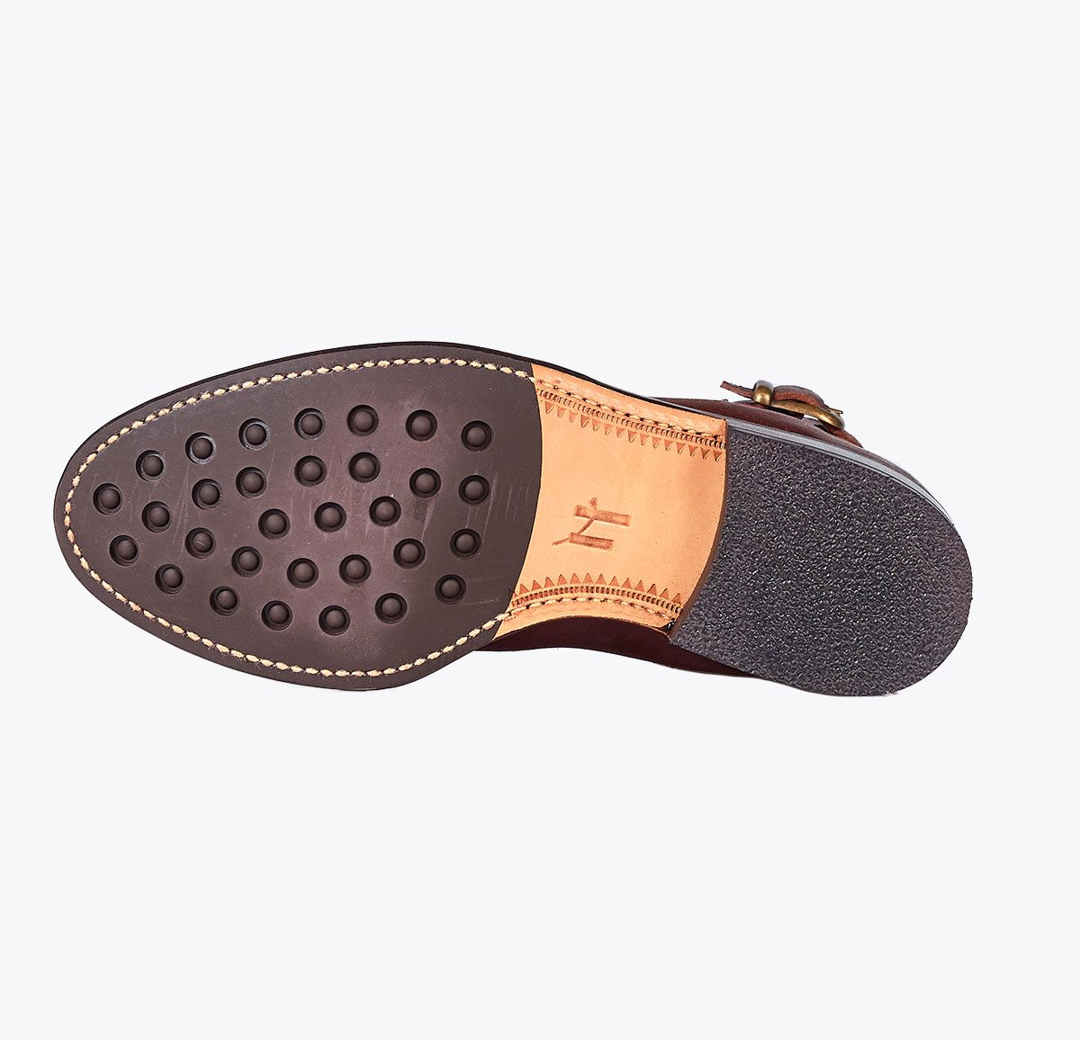 Botín Moldeada hebilla, tailor made shoes, schuhe nach mass en mandalashoes Santanyí Mallorca