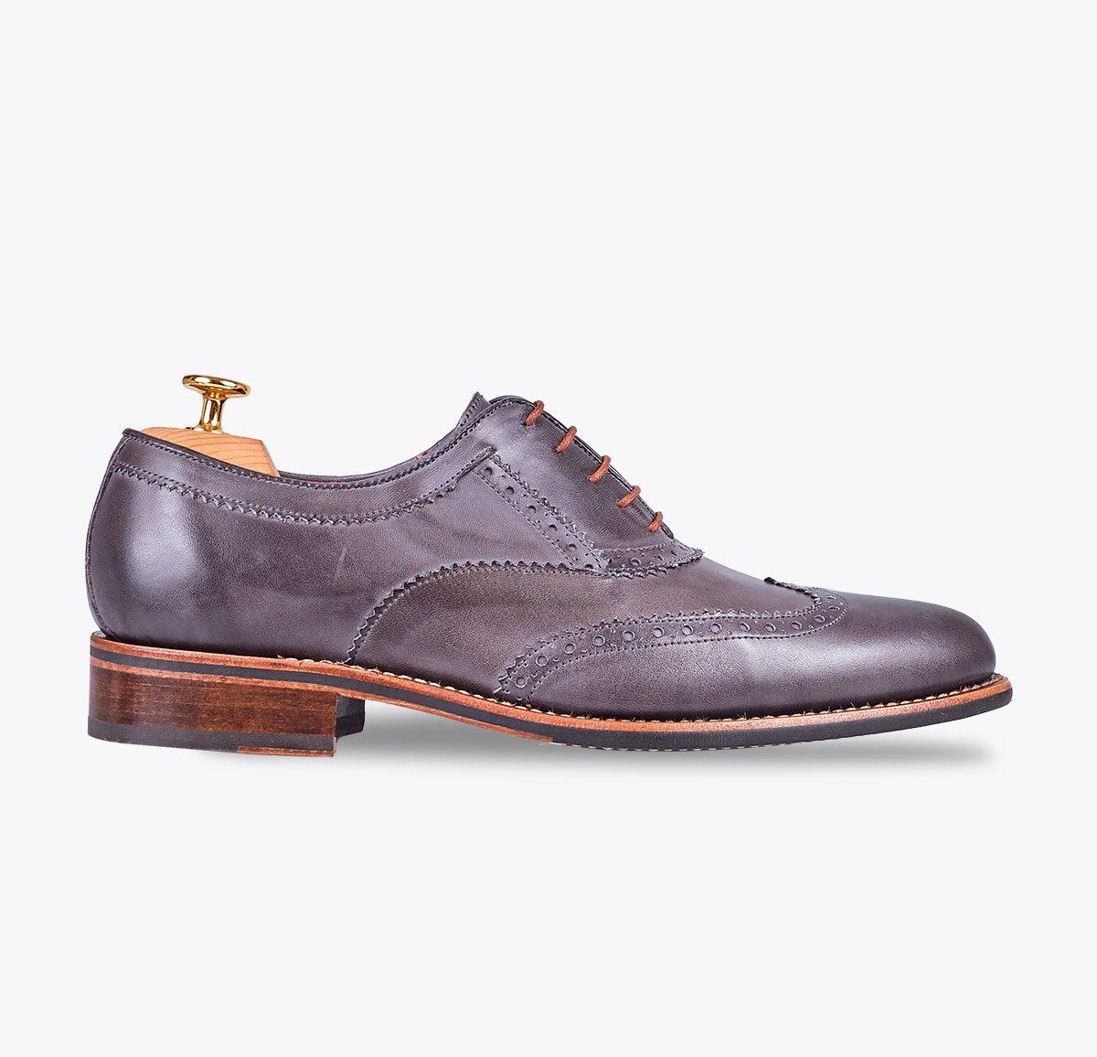 Zapato Sidney hecho a mano en mandalashoes, Santanyí Mallorca. Hand made shoes. Nach Mass Schuhe