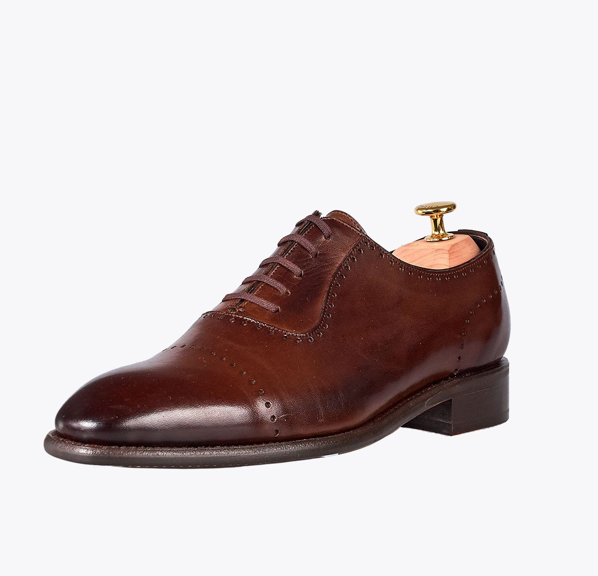 Zapato titanic testa hecho a mano en mandalashoes, Santanyí Mallorca. Hand made shoes. Nach Mass Schuhe