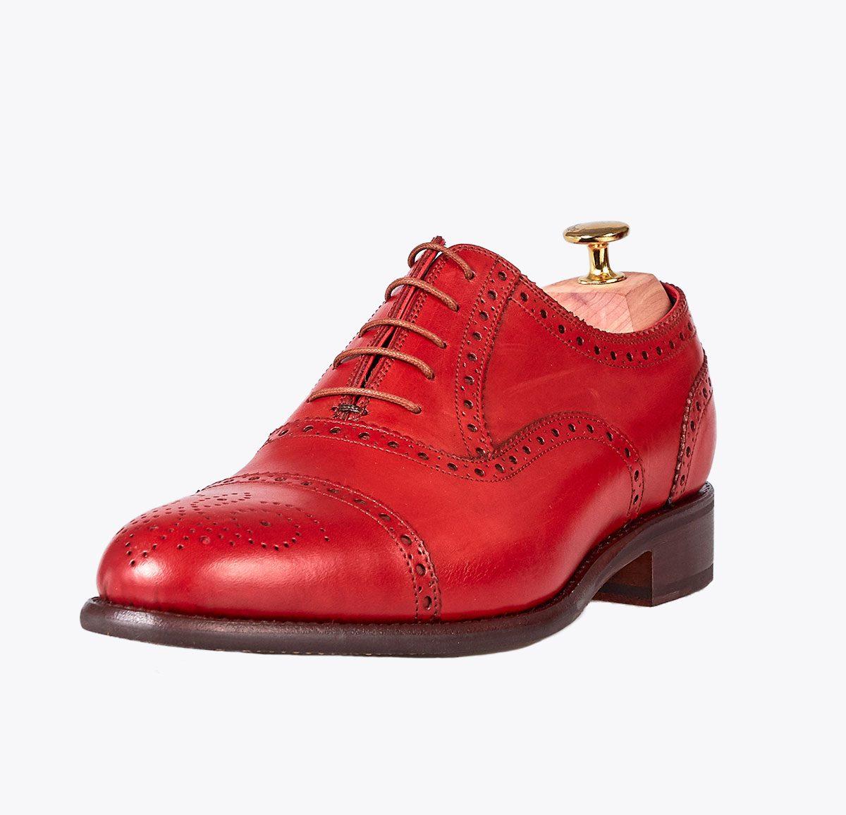 Zapato Córdoba hecho a mano en mandalashoes, Santanyí Mallorca. Hand made shoes. Nach Mass Schuhe